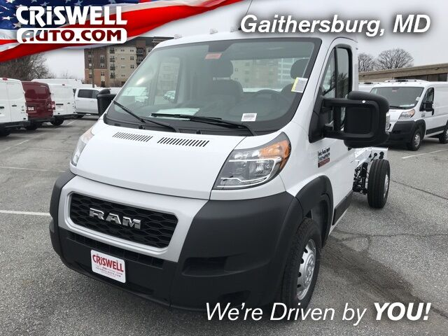 "2020 Ram ProMaster 3500 CHASSIS CAB 136 WB / 81"" CA"" Gaithersburg MD"