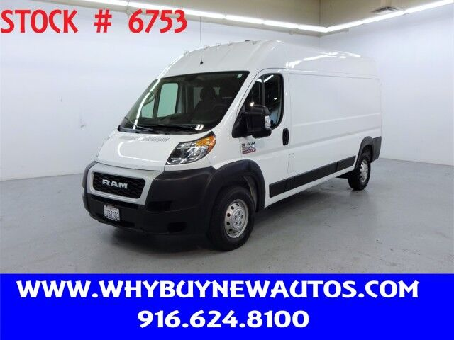2020 Ram ProMaster 2500 ~ High Roof ~ Only 1K Miles! Rocklin CA