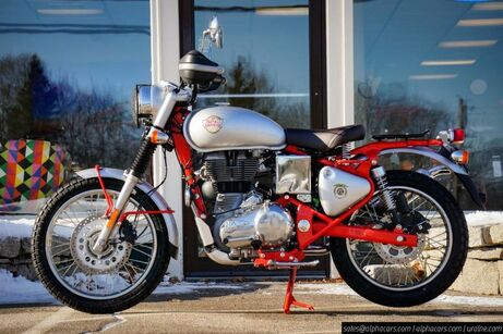 2020 Royal Enfield Bullet Trials 500 Works Replica Red Boxborough MA