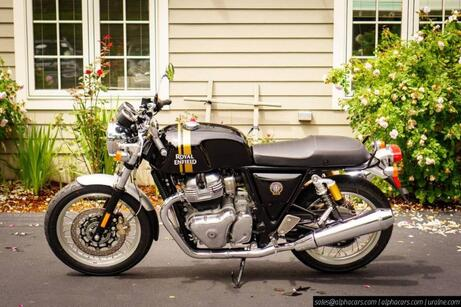 2020 Royal Enfield Continental GT 650 Black Magic Boxborough MA