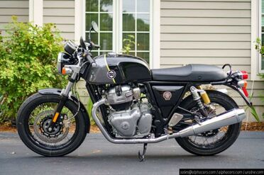 2020_Royal Enfield_Continental GT 650_Dr. Mayhem_ Boxborough MA