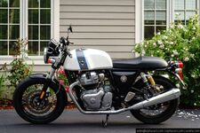 2020 Royal Enfield Continental GT 650 Ice Queen