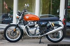2020 Royal Enfield Interceptor INT650 Orange Crush