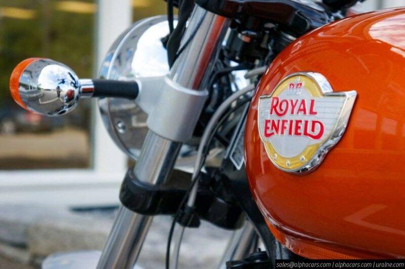 2020 Royal Enfield Interceptor INT650 Orange Crush Boxborough MA