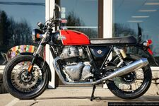 2020 Royal Enfield Interceptor INT650 Ravishing Red