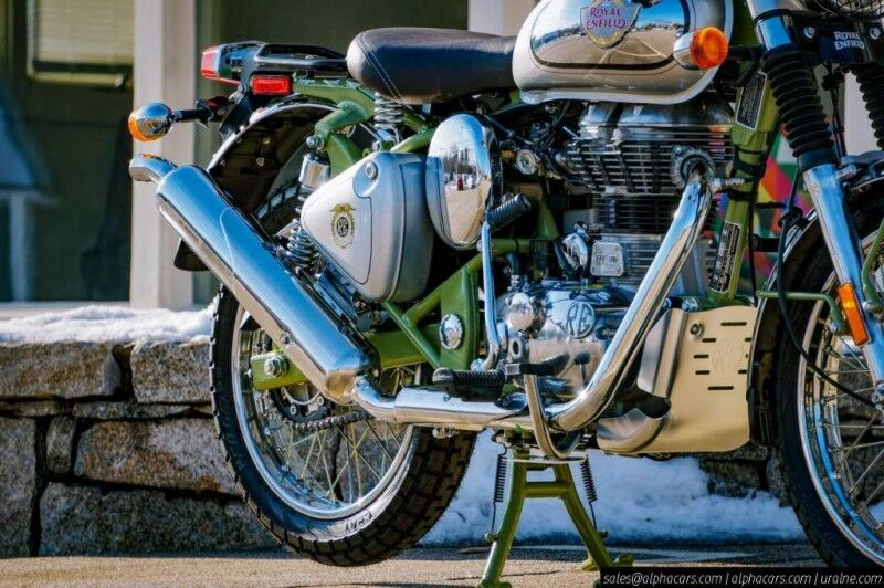 2020 Royal Enfield Limited Edition Bullet Trials Works Replica Boxborough MA