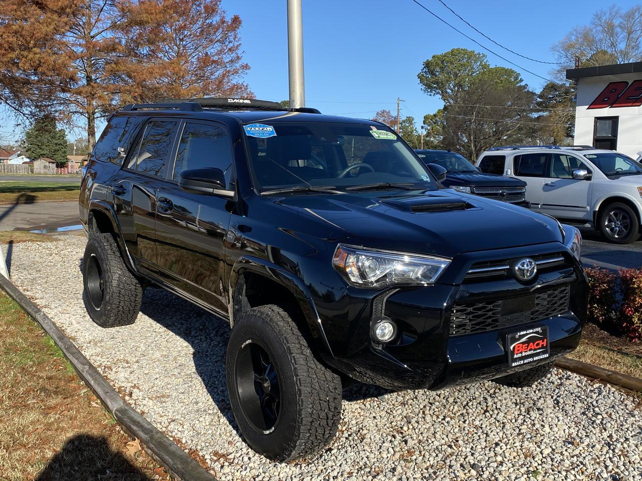 2020 TOYOTA 4RUNNER TRD OFF ROAD 4X4, WARRANTY, NAV, BLUETOOTH, BACKUP CAM, 1 LOCAL OWNER, CLEAN CARFAX! Norfolk VA