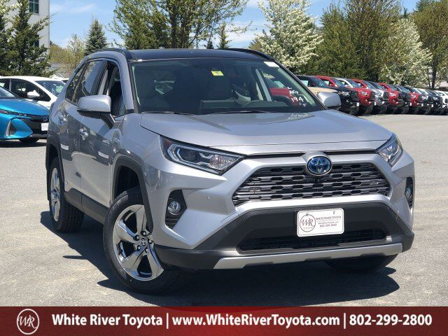 2020 TOYOTA RAV4 Limited Hybrid White River Junction VT