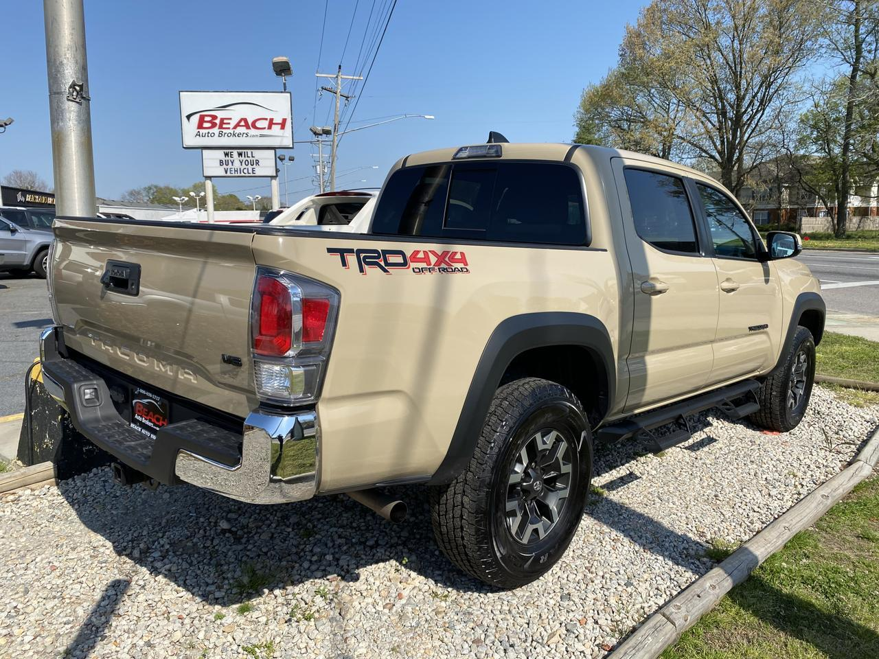2020 TOYOTA TACOMA TRD OFF ROAD DOUBLE CAB 4X4, WARRANTY, NAV, BLUETOOTH, BACKUP CAM, PARKING SENSORS, 1 LOCAL OWNER!!! Norfolk VA