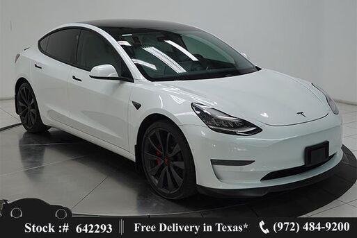 2020_Tesla_Model 3_Performance NAV,CAM,PANO,HTD STS,BLIND SPOT_ Plano TX