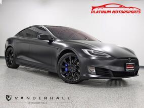 Tesla Model S Long Range Plus 1 Owner Full Self-Driving 21 Sonic Twin Wheels Glass Roof Wrapped Satin Black 2020