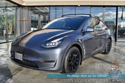2020_Tesla_Model Y_Long Range / AWD / Dual Motor / Auto Pilot / Full Self Driving / Power & Heated Leather Seats / Panoramic Sunroof / Adaptive Cruise / Navigation / Bluetooth / Back Up Camera / 326 Mile Range / Only 12k Miles / 1-Owner_ Anchorage AK