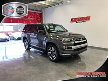 2020 Toyota 4Runner Limited 4wd 3rd Row