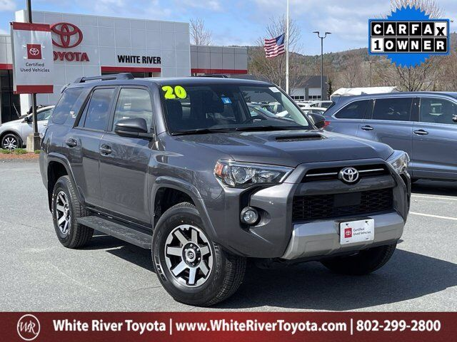 2020 Toyota 4Runner TRD Off-Road White River Junction VT