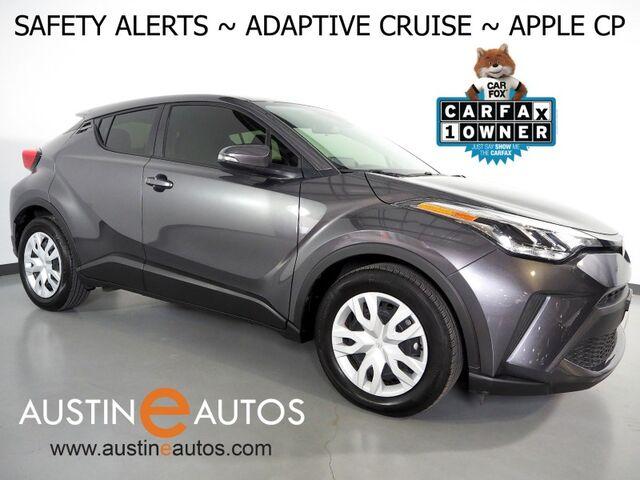 2020 Toyota C-HR LE *COLLISION ALERT w/BRAKING, LANE KEEP ASSIST, BACKUP-CAMERA, ADAPTIVE CRUISE, COLOR TOUCH SCREEN, AUTO HIGH BEAMS, BLUETOOTH, APPLE CARPLAY Round Rock TX