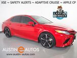 2020 Toyota Camry XSE *BLIND SPOT & LANE DEPARTURE ALERT, ADAPTIVE CRUISE, COLLISION WARNING, BACKUP-CAMERA, COLOR TOUCH SCREEN, LEATHER, HEATED SEATS, KEYLESS ENRTY, ALLOY WHEELS, APPLE CARPLAY