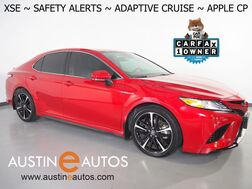 2020_Toyota_Camry XSE_*BLIND SPOT & LANE DEPARTURE ALERT, ADAPTIVE CRUISE, COLLISION WARNING, BACKUP-CAMERA, COLOR TOUCH SCREEN, LEATHER, HEATED SEATS, KEYLESS ENRTY, ALLOY WHEELS, APPLE CARPLAY_ Round Rock TX
