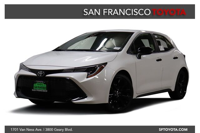 2020 Toyota Corolla Hatchback SE Nightshade Edition San Francisco CA