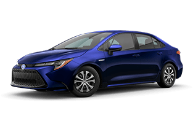 2020 Toyota Corolla Hybrid Hybrid LE Vacaville CA