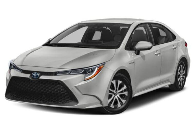 2020 Toyota Corolla Hybrid LE Vacaville CA