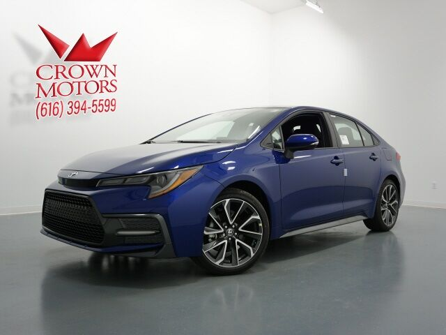 Crown Motors Holland Mi >> Vehicle Details 2020 Toyota Corolla At Crown Motors Toyota