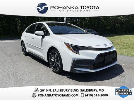 2020_Toyota_Corolla_SE_ Salisbury MD