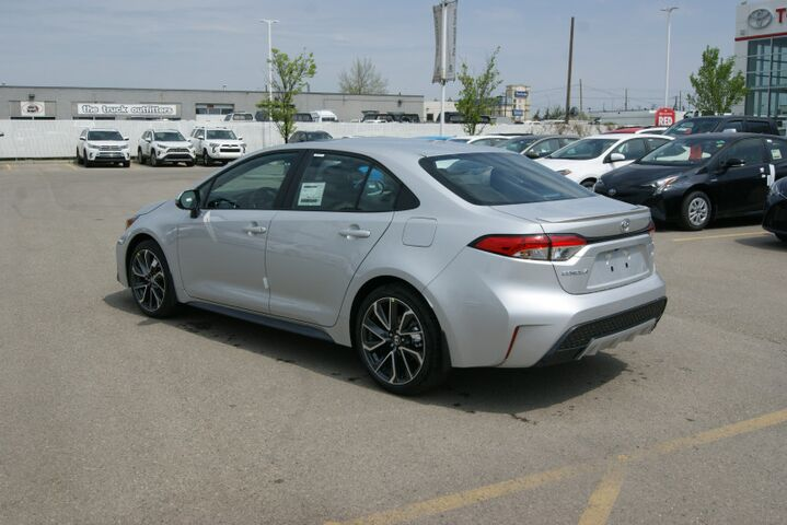 2020 Toyota Corolla SE Upgrade Package Calgary AB