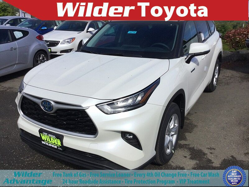 2020 Toyota Highlander Hybrid Hybrid LE Port Angeles WA
