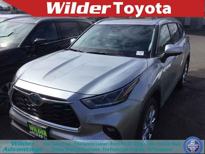 2020 Toyota Highlander Hybrid Hybrid Limited Port Angeles WA