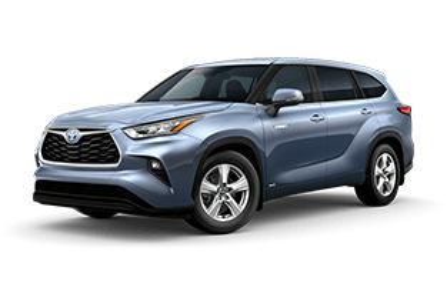 2020 Toyota Highlander Hybrid LE Vacaville CA