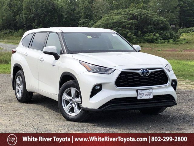 2020 Toyota Highlander Hybrid LE White River Junction VT