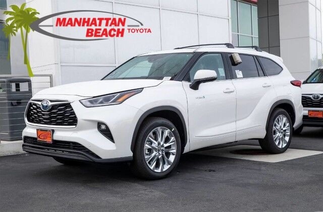 2020 Toyota Highlander Hybrid Limited Manhattan Beach CA