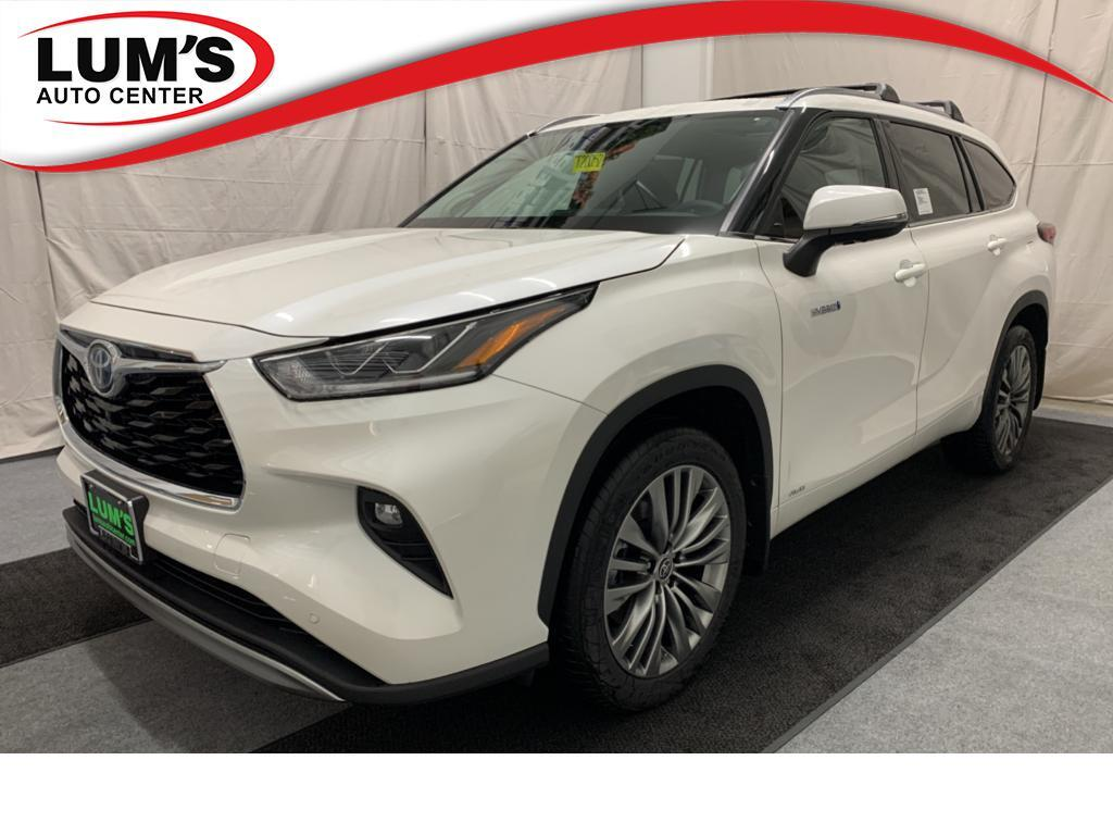 2020 Toyota Highlander Hybrid Limited Platinum Warrenton OR