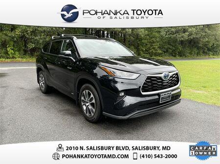 2020_Toyota_Highlander Hybrid_XLE_ Salisbury MD