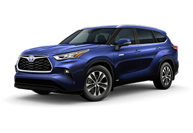 2020 Toyota Highlander Hybrid XLE Vacaville CA