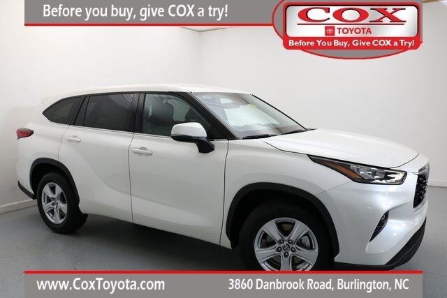 2020 Toyota Highlander LE Burlington NC
