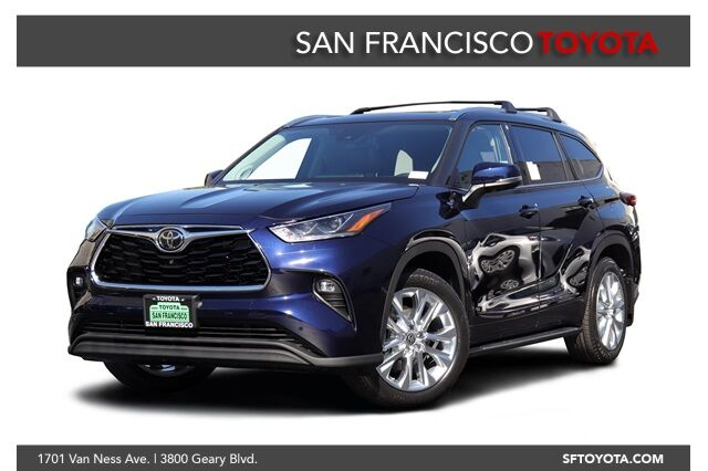 new 2020 toyota highlander limited in san francisco ca san francisco toyota