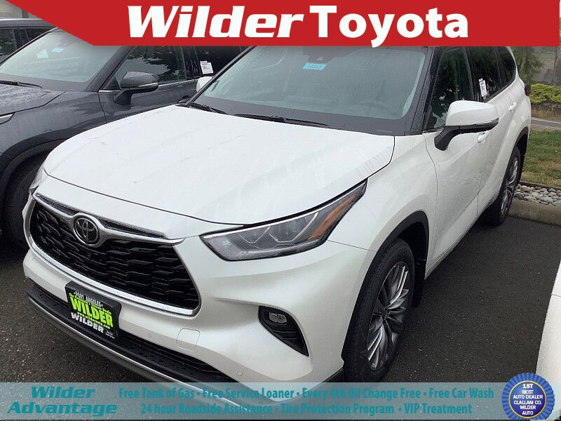 2020 Toyota Highlander Platinum Port Angeles WA