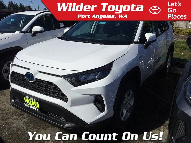 2020 Toyota RAV4 Hybrid Hybrid LE Port Angeles WA