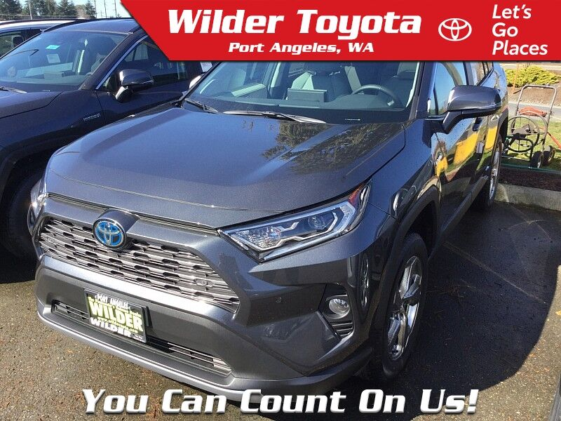 2020 Toyota RAV4 Hybrid Hybrid Limited Port Angeles WA