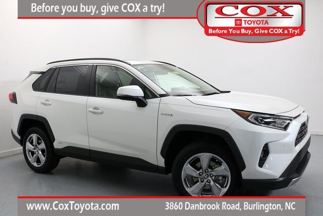 2020 Toyota RAV4 Hybrid Limited Burlington NC