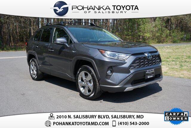 2020 Toyota RAV4 Hybrid Limited Salisbury MD