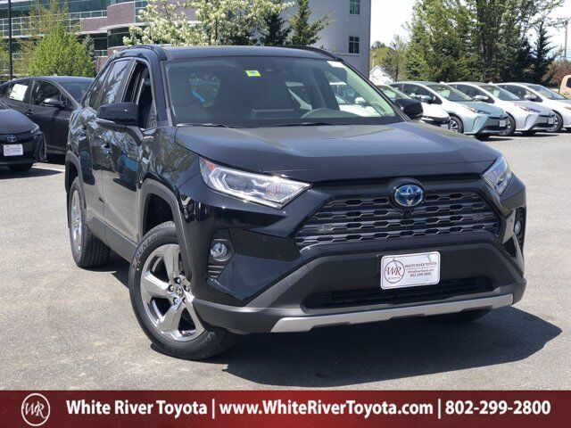 2020 Toyota RAV4 Hybrid Limited White River Junction VT