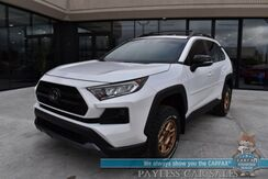 2020_Toyota_RAV4_TRD Off Road / 4X4 / Heated & Cooled Leather Seats / Heated Steering Wheel / Sunroof / Adaptive Cruise / Lane Departure & Blind Spot / Bluetooth / Back Up Camera / Tow Pkg / Only 12k Miles / 1-Owner_ Anchorage AK