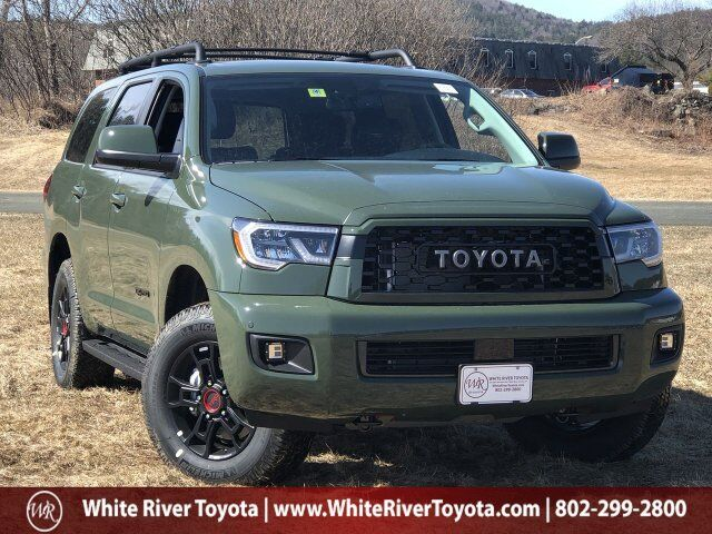 2020 Toyota Sequoia TRD Pro White River Junction VT