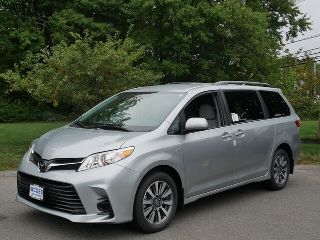 new 2020 toyota sienna le awd 7 passenger in hanover ma mcgee toyota