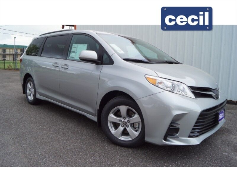 2020 Toyota Sienna LE Orange TX