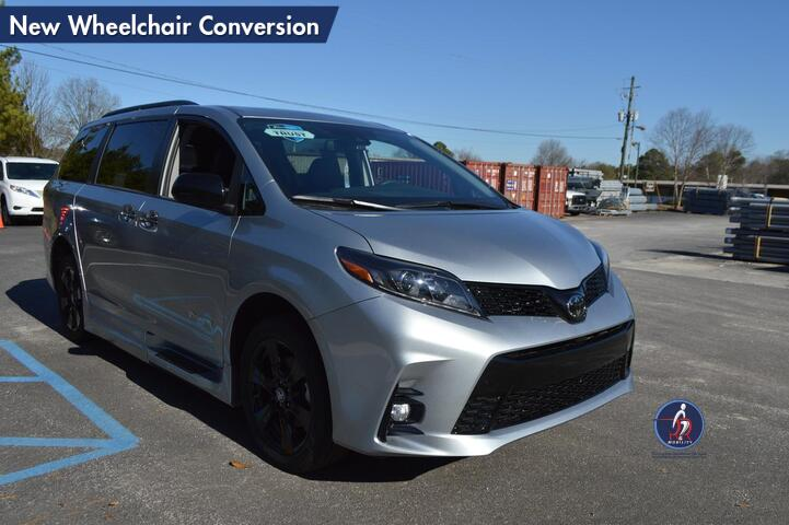 2020 Toyota Sienna SE W/Navigation New Wheelchair Conversion Conyers GA
