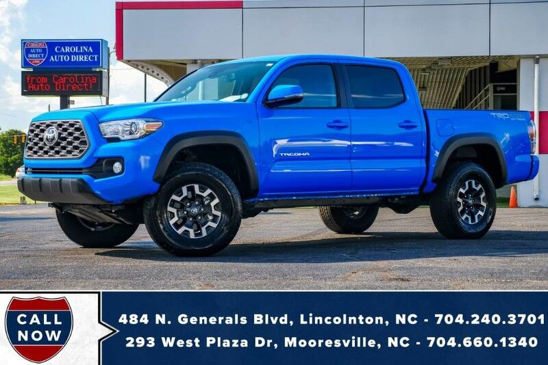 2020 Toyota Tacoma 4X4 TRD Off-Road **VooDoo Blue** w/ Back-Up Camera Mooresville NC