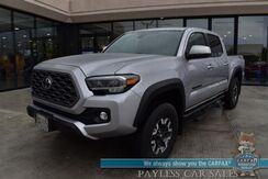 2020_Toyota_Tacoma_TRD Off Road / 4X4 / Technology Pkg / Premium Pkg / 6-Spd Manual / Heated Leather Seats / Navigation / Sunroof / Adaptive Cruise / Lane Departure & Blind Spot / LED Headlights / Bed Liner / Tow Pkg / Only 6k Miles / 1-Owner_ Anchorage AK